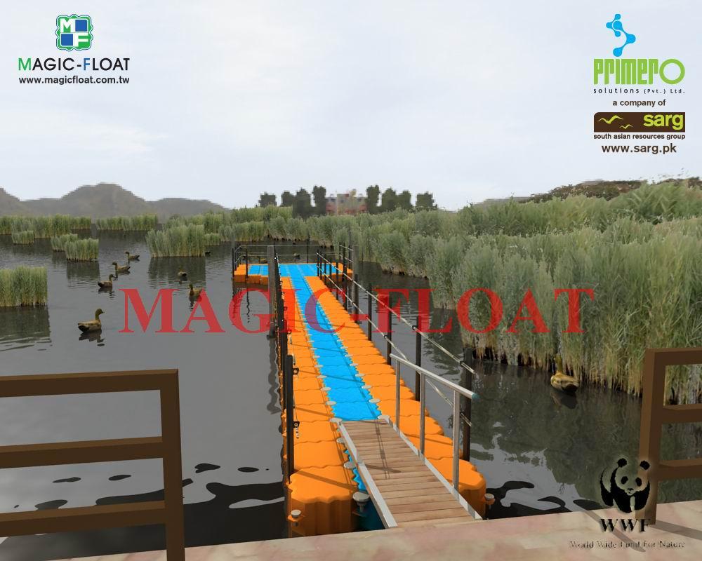3D獨木舟平台圖