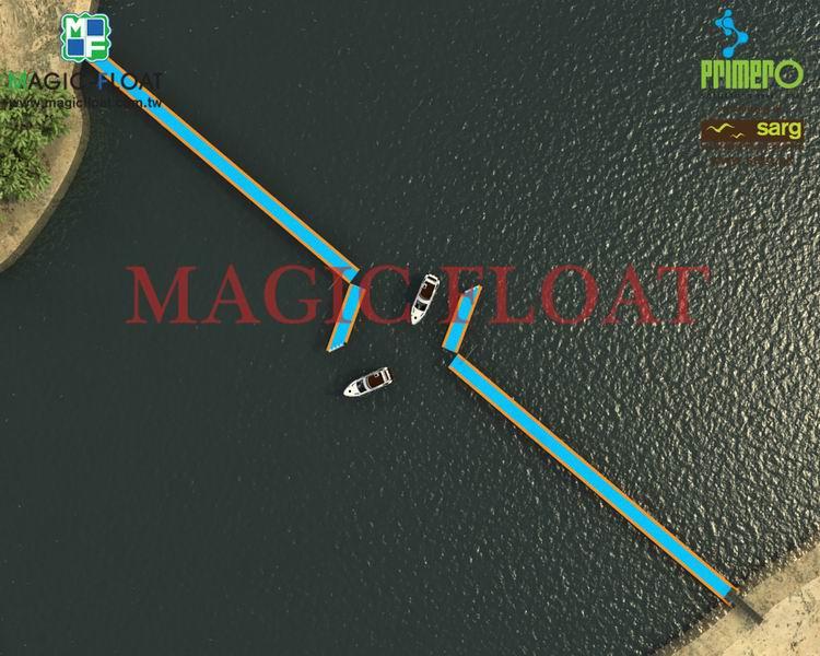 水上浮動工程碼頭