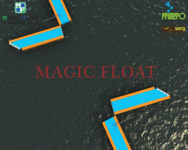 運用於水上各式遊艇碼頭