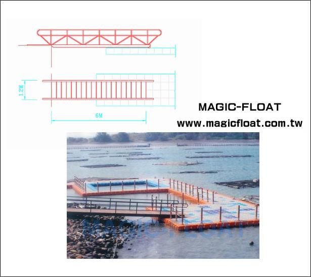 SS-12 Gangway平面棧橋/6mX1.2m