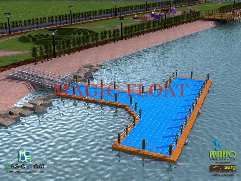 運用於各式遊艇碼頭